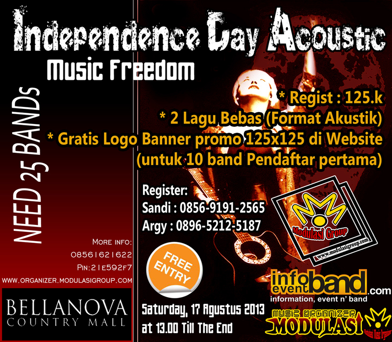 INDEPENDENCE DAY ACOUSTIC 2013